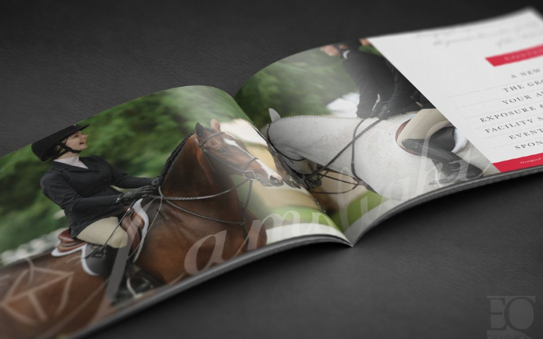 Lamplight Equestrian Center Logo Design, Branding and Marketing in Chicago, Illinois by EQ Graphics Horse Advertising