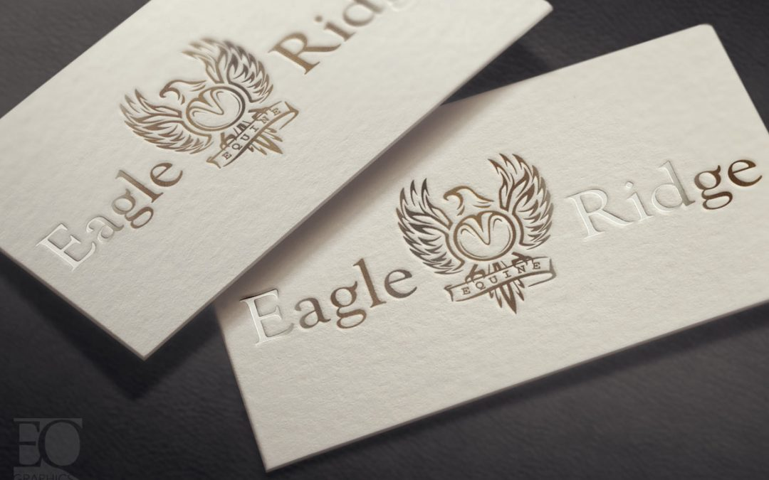 Eagle Ridge Equine Jeremiah Kemp Corrective Horse Shoer Logo by EQ Graphics Horse Shoeing Logos and Design