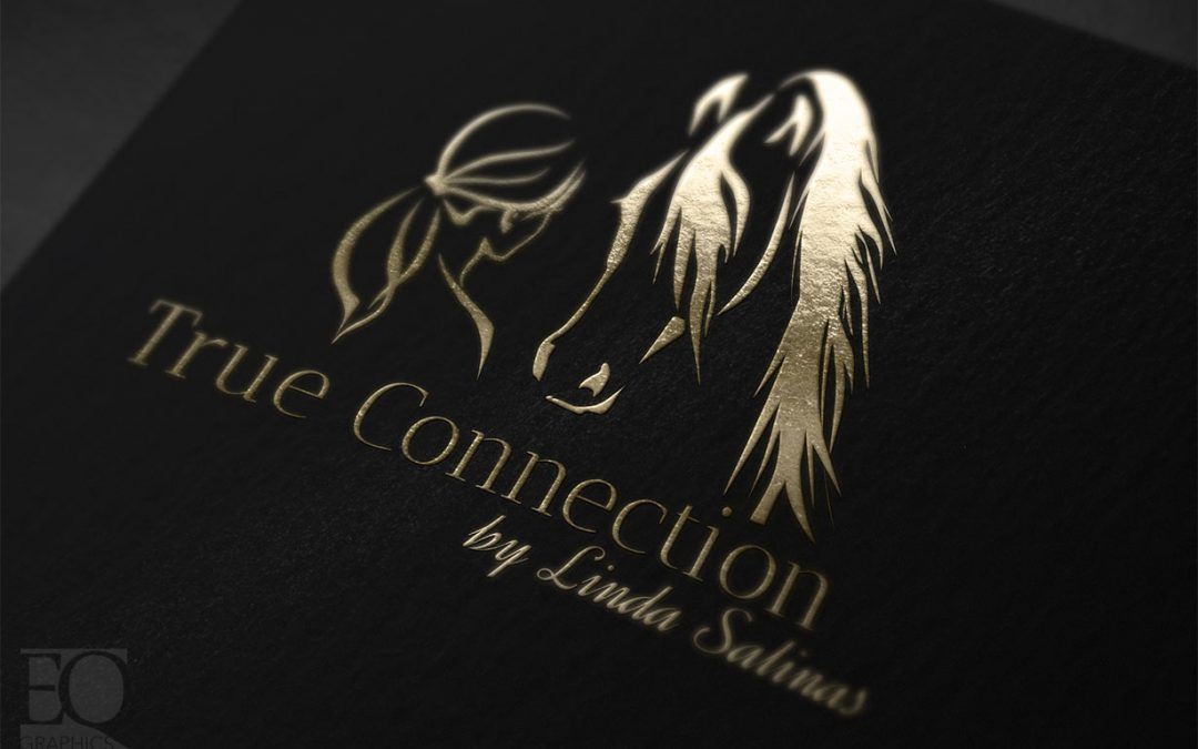 True Connection by Linda Salinas Liberty Horse Academy Logo by EQ Graphics Logos