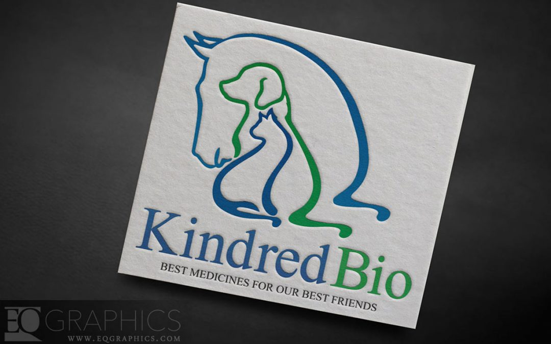 Kindred Bio Veterinary Medicine Pharmaceutical Logo by EQ Graphics Equine Logos