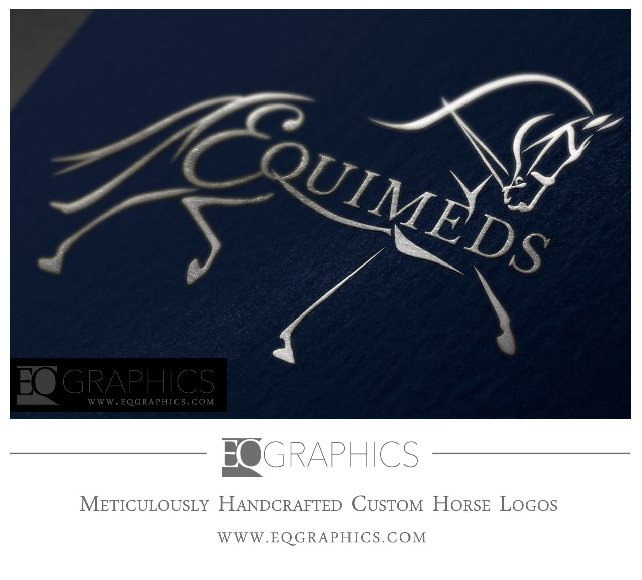 Equimeds Veterinary Medicine Logo Australia Veterinarian Medical Supply Design by EQ Graphics