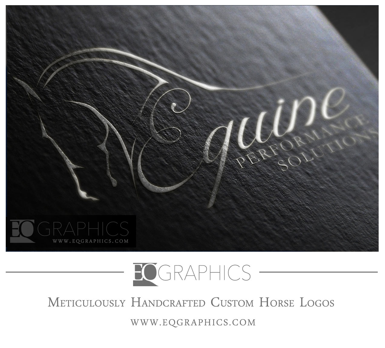 Equine Performance Solutions Logo Design by Horse Logos Designer EQ Graphics