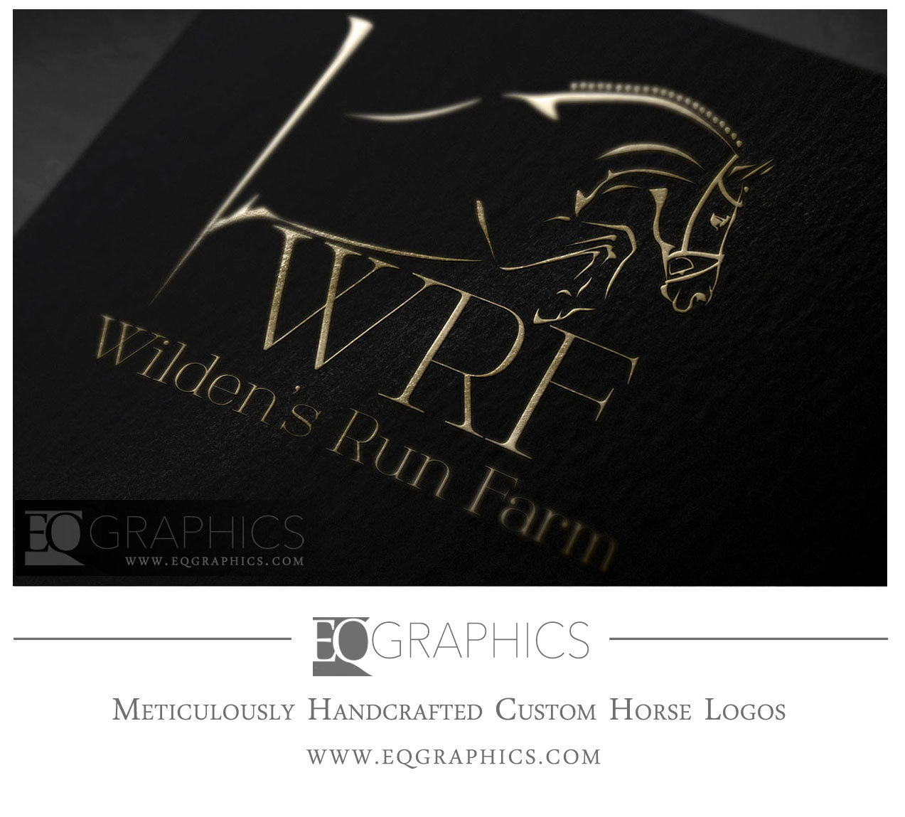 Wildens Run Farm Logo by EQ Graphics Jumper Logos